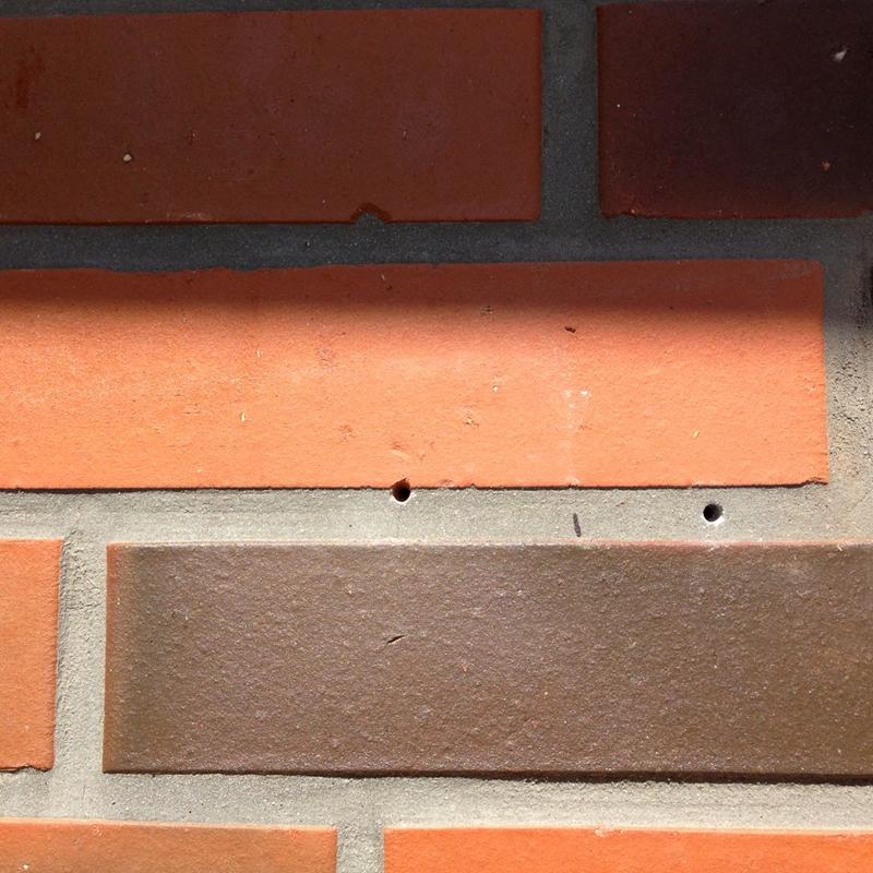外壁・レンガの穴