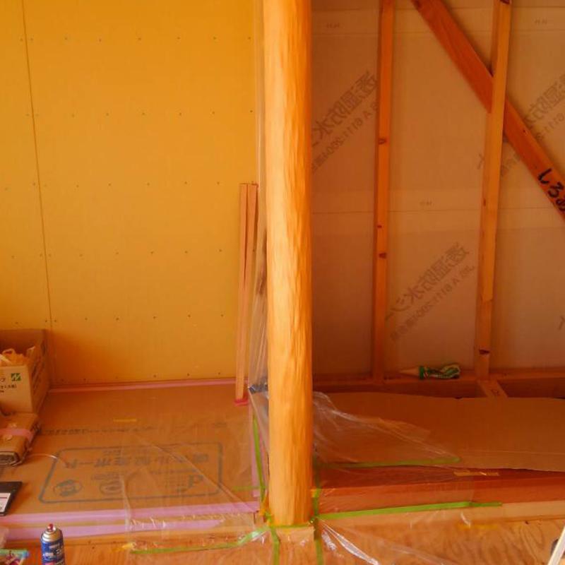 床柱の塗装