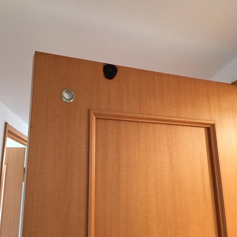ドアの焦げ 補修