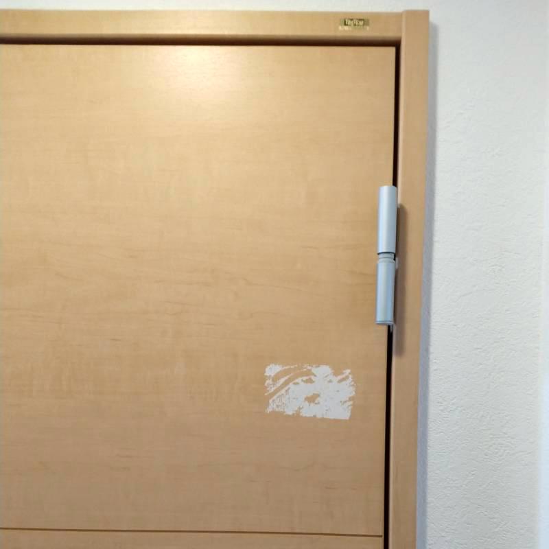 ドア補修前1