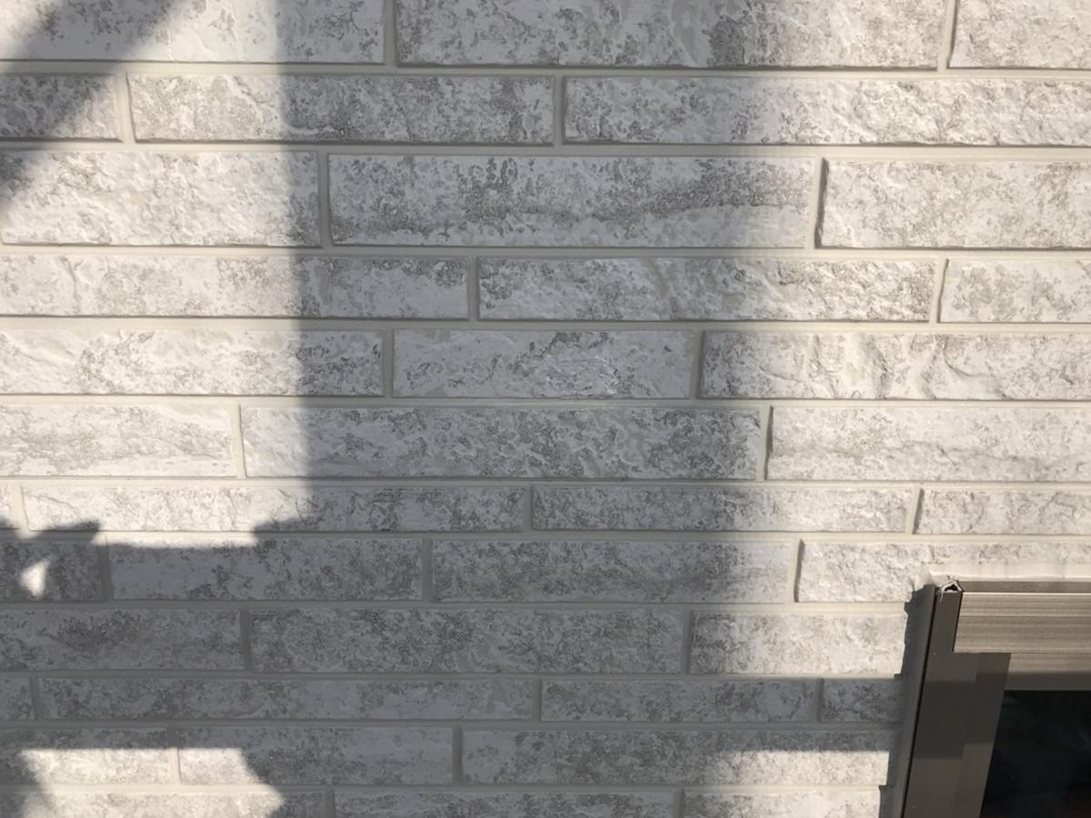 外壁工事中による窯業サイディング穴補修