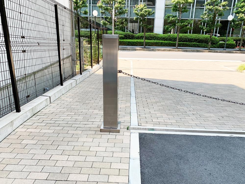 駐車場ゲート 補修後全体その2